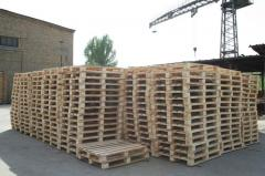 Europallets. Production of any sizes.