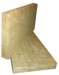 Плита из базальтовой тонкой ваты.