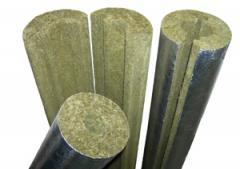 Cylinders from basalt thin fiber folgirovanny.