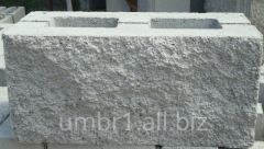 Block decorative slag stone