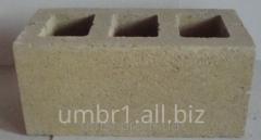 Блок со сквозными пустотами 180х190х390