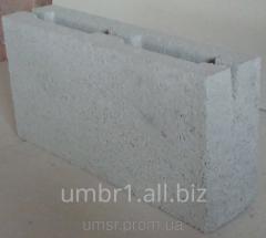 Block prostenochny slag stone