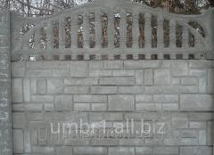 Euro concrete fence 1