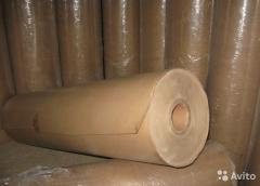 Cardboard in rolls on 15-25 kg, 0,4 mm thick