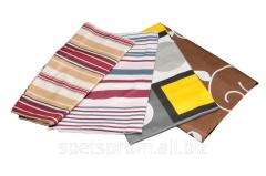 Linen set printed sheeting fabric