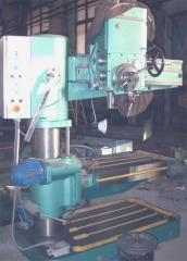 Radial-drilling 2532L, max. diameter is 32 mm