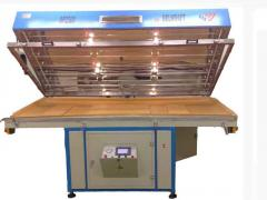 Press membrane and vacuum ARE of 2500