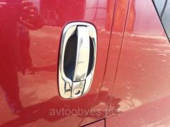 Окантовка ручек Opel Vivaro (Опель Виваро), нерж.