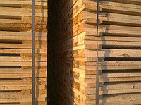 Pallet preparation (a board for pallets)
