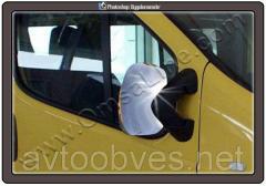 Накладки на дзеркала Opel Vivaro (Опель Виваро),
