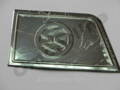 Overlay for Volkswagen T5 gasoline tank hatch