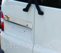 Накладка над номером Volkswagen Т5 (фольксваген