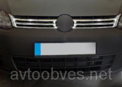 Накладка на решетку Volkswagen CADDY 2010-...