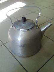 Teapot of army 5 liters aluminum
