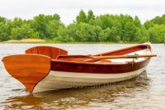 Rowboat of Royal Boat Whitehall handwork.