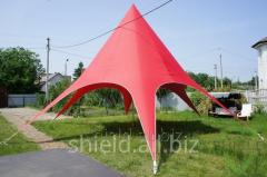 Shield tent for outdoor cafes and restaurants 10.4