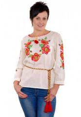 Рубашка  Цветочный венок М-223-1