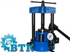 Hydraulic press of manual PGR-10