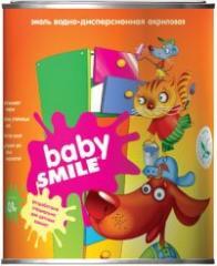 Эмаль акриловая универсальная «BABY SMILE» SF18