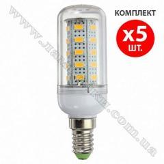 LED лампа е14 9Вт (=70вт), кукуруза 5xE14corn9W36