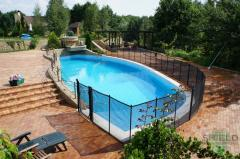 Children's pool fence Shield 1,2 meters