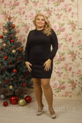 Маленькое черное платье с отделкой из гипюра