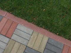 Тротуарная плитка Паркет Венге