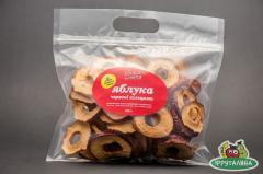 Apples dried rings of 250 g Ukraine