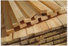 Lath wooden pine from the producer
