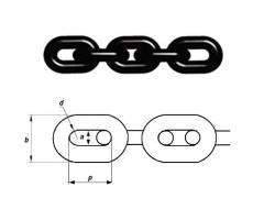 Kaldırma 6 h 18 mm, 1.12 iş yükünü tonaj, sınıf 8, (G80) zincir
