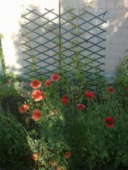Решетка декоративная садовая опора для растений
