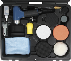 The Paint-Styler polishing set (a pneumatic tool