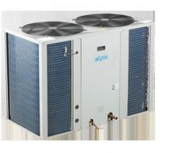 Compressor and condenser Alpix blocks