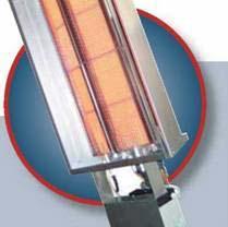 Светлый газовый обогреватель SR II 21 тепловая