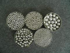 Spheres from stainless steel