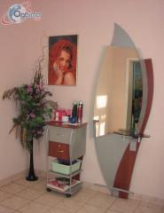 Рабочиа места (зеркала парикмахерские)