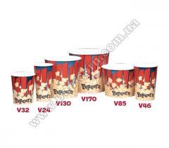 Стаканы бумажные для попкорна, США