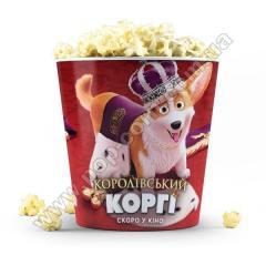 Glasses for popcorn premier, all sizes