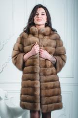 Fur coat from marten