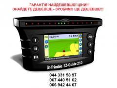 Trimble EZ-Guide 250 system parallel vod_nnya