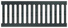 Чугунная решетка Асо drain euroline 0,5м для лотка из полимербетона Асо self Артикул 38512