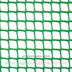 Пластиковая сетка для забора (ячейка 10х10 мм)