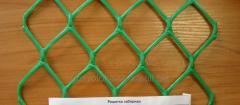 Пластиковая сетка для забора (ячейка 50х50 мм)