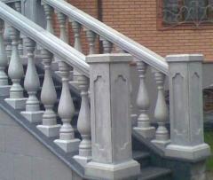 Изделия неармированные бетонные
