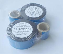 Thermotransfer ribbon for TTO printers (33 mm x