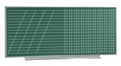 Доска учебная магнитная для мела (2400 х...