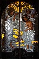 Церковные двери акрил, алюминий, ковка, стекло