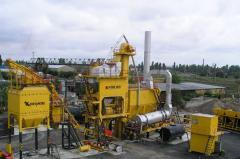 Installations asfaltosmesitelny KDM201 (110 t/h)