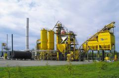 Installations asfaltosmesitelny DS-168 (160 t/h)