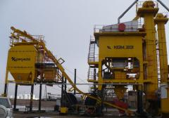 Installations asfaltosmesitelny KDM201M (110 t/h)